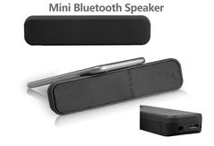 Bluetooth 5.0 Mini portable wireless speaker outdoor camping loudspeaker subwoofer car speaker indigo 142*32*17mm