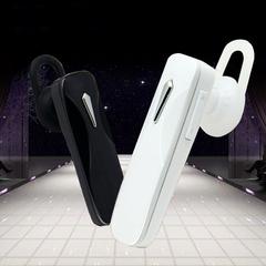Business CSR Bluetooth single earphone Headset Wireless Stereo Hands-free with microphone Headphone white