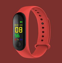 Smart Watch Sport Smart Band Blood Pressure Monitor Smart Wristband Smartwatch Bracelet red