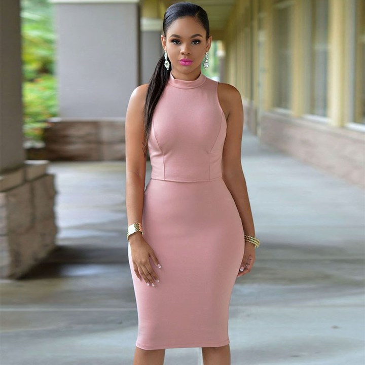 Summer Women Fashion Casual Dress Summe Sleeveless Dress Slim Tight Nightclub Party Dress 01 s