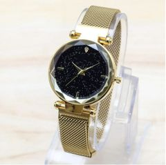 New women diamond star watch magnet buckle student watch clothes accessories 06