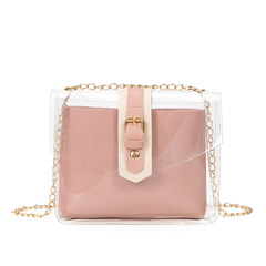 2019 New mobile phone coin bag summer PVC shoulder chain crossbody bag 01 all code