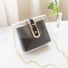 2019 New mobile phone coin bag summer PVC shoulder chain crossbody bag 04 all code