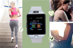 Smart Watch DZ09 Android Phone TF Sim Card Camera Men Women Sport Wristwatch with Packing white