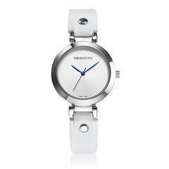 Women's simple casual business quartz watch belt small dial elegant watch white