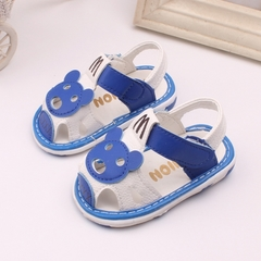 Summer girls kids sandals baby boy cute bear walking shoes 01 15