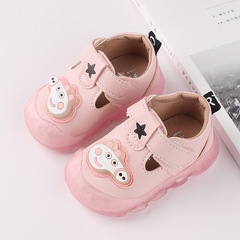 Autumn boys walking shoes baby girl cartoon function shoes kids non-slip soft-soled shoes 01 15