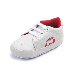 Baby girl fashion PU walking shoes boy non-skid breathable toddler shoes 01 11(10.5cm)