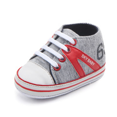 Baby fashion cloth walking shoes boy non-skid breathable toddler shoes 01 11(10.5cm)