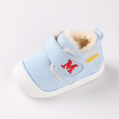 Winter baby girl thick cotton shoes boy cute soft-soled walking shoes 01 16(11.5cm)