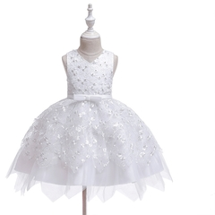 Baby girl dress skirt kids multilayer lace skirt girl princess dress party dress 06 120cm