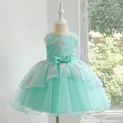 Baby girl dress skirt kids costumes pettiskirt girl princess dress party dress 02 120cm