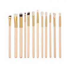 12Pcs Makeup Brush Sets Beauty Tools Brush Lipstick Eye Shadow Brush Set 02