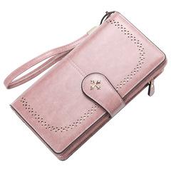 Women wallet  multi-function  zipper clutch bag multi-card position coin purse mobile phone bag 01 20.0 cm * 11.0 cm * 4.7 cm