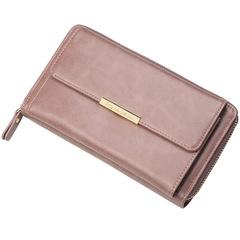 Women wallet large capacity multi-function long paragraph clutch bag purse 01 21.0 cm * 11.0 cm * 4.5 cm