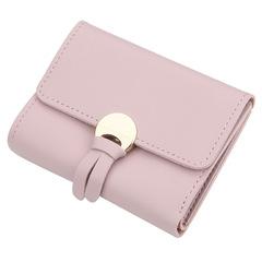 New buckle wallet ladies short tassel wallet multi-card small wallet purse 01 12.0 cm * 9.0 cm * 1.5 cm