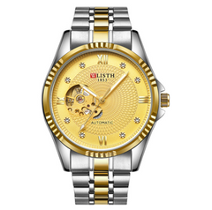 1 Pcs Men's Business Machinery Watch