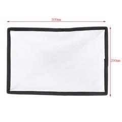 Diffuser Softbox 20 x 30cm Universal Foldable Flash Light Diffuser Softbox
