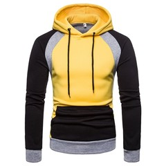 Lucky Men Sweater Hot Sell Men's Tops Hooded Color Sweater Large Size Sweater Jacket