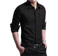 Lucky Men Business Shirt Casual Large Size Men's Explosive Shirt