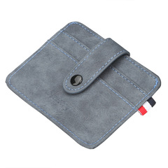 Men card package multi-card card holder business card package bank bus card sets blue 11.8 cm * 8.5 cm * 0.3 cm