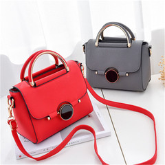 ladies fashion handbags handbag simple shoulder Messenger women bag red high quality and large capacity handbags one size high quality and large capacity handbags one size