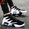 Fashion sneakers men shoes casual sports shoes Running Breathable Shoes Board Shoes men black 42