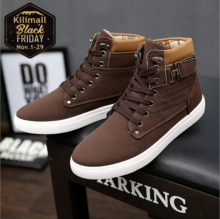 Fashion sneakers men shoes casual sports shoes Running Breathable shoes Board Shoes brown 39