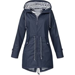 New charge clothing outdoor mountaineering clothing women's coat dark blue 5xl