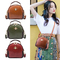 Cute Shoulder Top Handle Satchel Crossbody Bag for Women Stylish Ladies Messenger Bags Purse brown one size