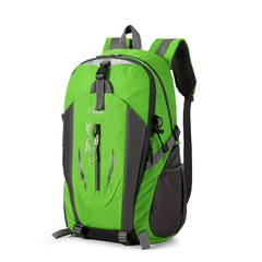 Hiking Backpack Trekking Travelling Cycling Backpack Riding Rucksack Mountaineering Outdoor Sports green one size