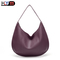 newest Women's bag Chinese fashion women's handbag shoulder slant across durable PU tote bag Purple one size