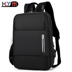 Chineses tyle Leisure sports backpack multi-function USB charging computer backpack travel schoolbag black one size