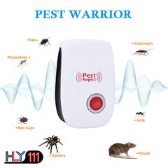 Ultrasonic Pest Reject Repeller Pest Control Electronic Anti Rodent Insect Repellent Mosquito Killer