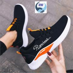 ZW Women Shoe New Leisure Running Shoes Fashion Lace Women's Sports Shoes Coconut Shoes black 36