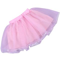 Girls Clothing Ballet Dance Fluffy Pettiskirts Skirt For Girls Party Ball Gown Children Skirt pink 120