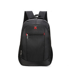 Men's Backpack Multi-functional Large-capacity Student Schoolbag Travel business laptop bag daily black one size