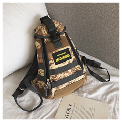 Fashion backpack bags for women men Unisex Oxford Shoulder Chest Cross body Bags super quality 1 one