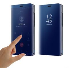 Mirror Flip Case For Huawei P30 P30 Lite Y5 2018 Y7 Y9 2019 Cover Huawei Case Huawei Cover black huawei Y5 2018