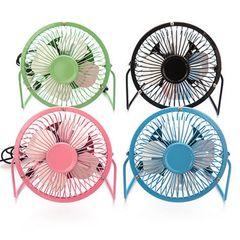Iron Mini Electrical Fan Portable Air Cooler Table Desk Small Electrical Usb Table Office Cooliing