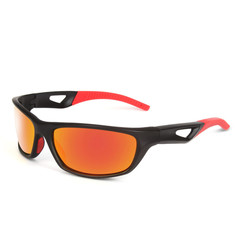 Polarized Sports Sunglasses outdoor riding glasses best-selling Sunglasses sand black frame red nomal