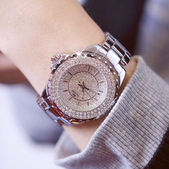 BS hot sale high-end linked watch full diamond female watch FA0280M silver