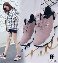 women tennis shoes breathable fitness fabric sneakers female sport shoes walking jogging footwear pink 36(uk4.5)