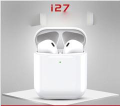 Bluetooth Headsets Wireless Sports Earphone with Cute Charge Box HiFi Good Sound  Upgraded i7  i27 i27 one size
