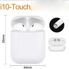 Bluetooth Headsets Wireless Sports Earphone with Cute Charge Box HiFi Good Sound  Upgraded i7  i27 i10 white one size