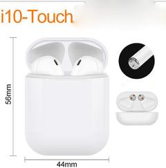 Bluetooth Headsets Wireless Sports Earphone with Cute Charge Box HiFi Good Sound  Upgraded i7  i27 i10 white one size