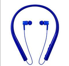 Bluetooth Headset Wireless Earphone Earpiece V4.2 Neck-mounted In-ear Earpods Waterproof Cell Phones blue one size