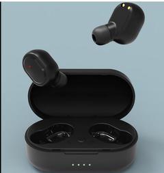 Bluetooth Earphone Mini Double Ear Wireless Sports Earpiece New In-Ear Headsets for Cell Phone black
