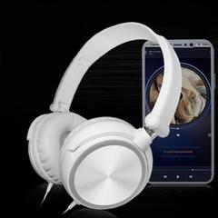 ALAMO Headset Mega Bass Lightweight and Foldable white