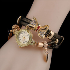 New product Specials Fashion Women's Wrist Watch With Bowknot red
